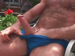 Big Bear Has Fun With Hot Blond Guy 1